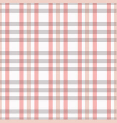 Checked seamless pattern in pink white grey a vector