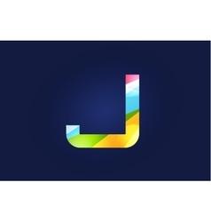 J letter logo icon symbol vector image