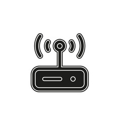 router modem computer vector image