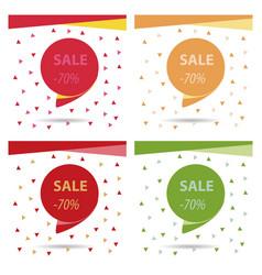 Sale banner template design big sale special vector