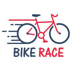 sport bike race red bike background image vector image