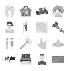 Sports beauty shopping and other web icon in vector