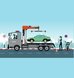 Wrong traffic rules vector