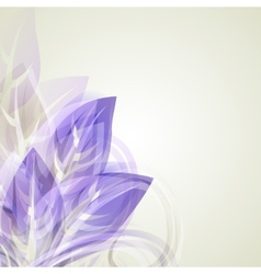 Abstract vintage purple background for design with vector image vector image