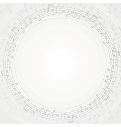 Music Frame vector image