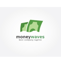 Abstract dollar logo icon concept Logotype vector