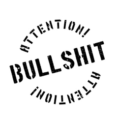 Bullshit rubber stamp vector