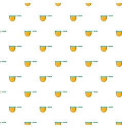 Net for catching fish pattern cartoon style vector