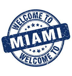 Welcome to miami vector
