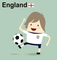 england national football team businessman happy i vector image vector image