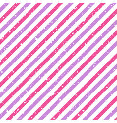 valentines day diagonal striped pink and purple vector image vector image