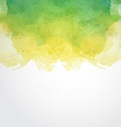 Watercolor Paint Design Element vector image vector image
