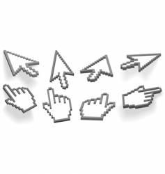 cursor vector image vector image