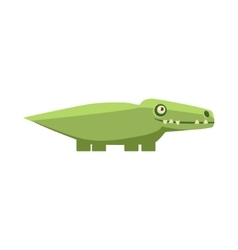 Crocodile Funny vector image
