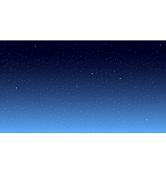 Star Sky vector image vector image
