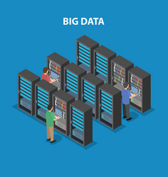 Data processing center artificial intelligence vector