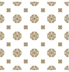 japan kimono inspired seamless pattern in vector image