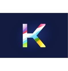 K letter logo icon symbol vector image