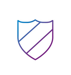 Line shield protection and security privacy vector
