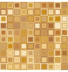 Mosaic Bricks vector