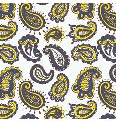 Paisley wallpaper vector