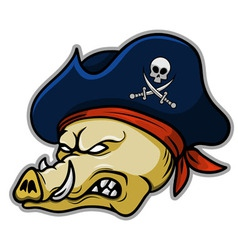 Pirate Hogs vector