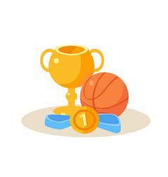 sport equipment education design vector image