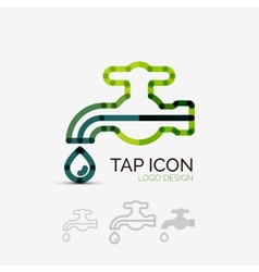 Tap company logo business concept vector