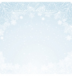 winter days vector image