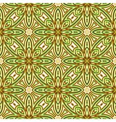 Bright green pattern vector image