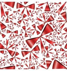 seamless ribbons pattern vector image vector image