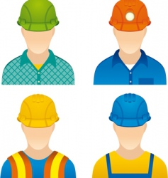workers vector image vector image