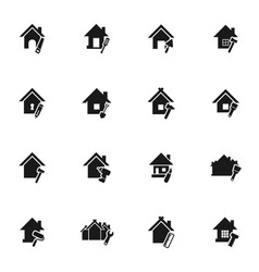 home icon7 vector image vector image