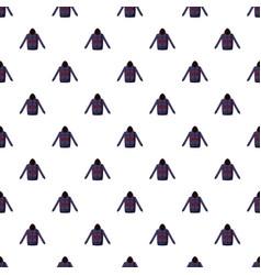Sweatshirt with deer pattern vector