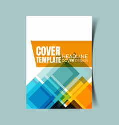 Abstract report cover 13 vector