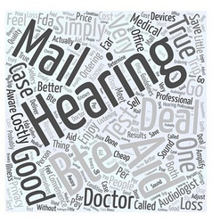 Are Deals on BTE Hearing Aids by Mail Too Good To vector