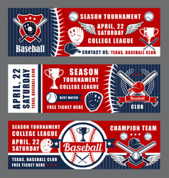 Baseball sport league cup tournament equipment vector