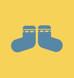 Children socks vector