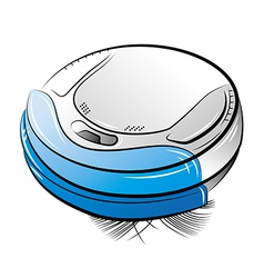 Cleanser MiniRobo Blue vector image vector image