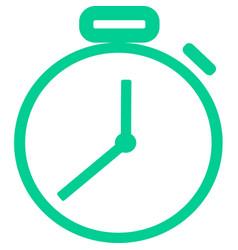 Clock icon for fasting ramadan vector