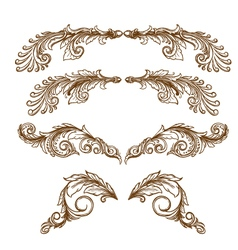 Drawing-Ornamental vector