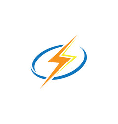 flazz electric logo vector image