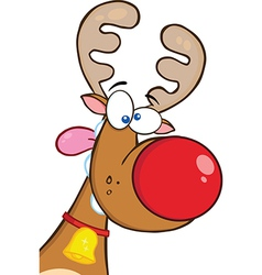 Reindeer cartoon vector