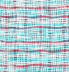 abstract cotton seamless pattern with grunge vector image