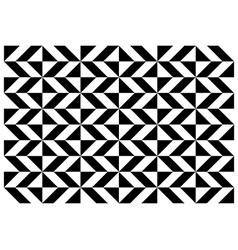 Geometric diamond pattern vector image