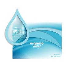 Water drop template vector