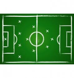 football teamwork strategy vector image vector image