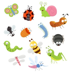Bug Set vector image