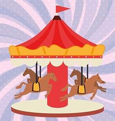 circus entertainment vector image