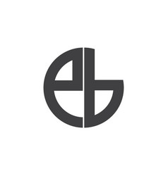 Ed-letter-logo-design vector